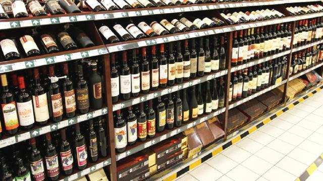 超市红酒陈列有什么小窍门?红酒陈列的原则