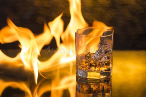威士忌火焰怎么调制