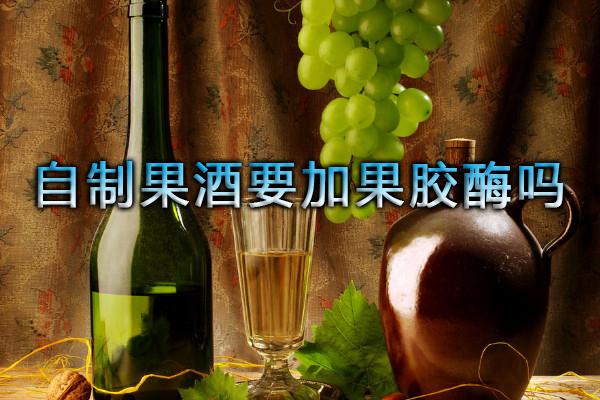 自制果酒要加果胶酶吗