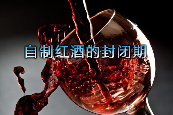 自制红酒的封闭期