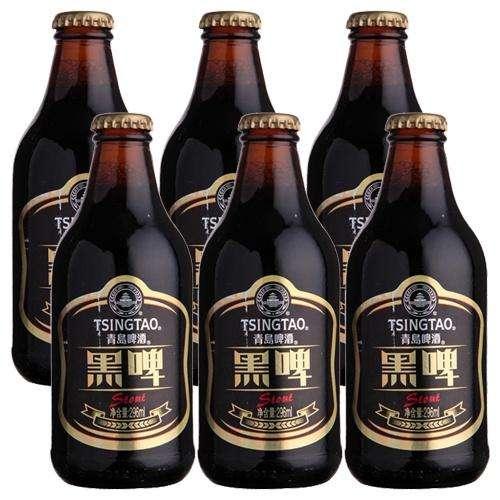 青岛黑啤酒12瓶装价格