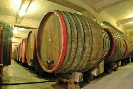 通化葡萄酒地下酒窖