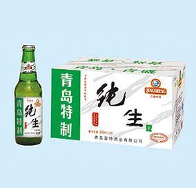 青岛纯生啤酒多少钱一箱