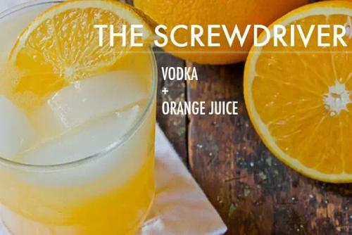 橙汁可以搭配什么洋酒?橙汁可以搭配伏特加。
