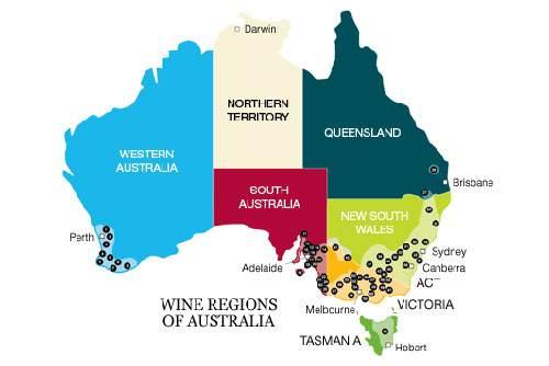 澳大利亚葡萄酒产区介绍