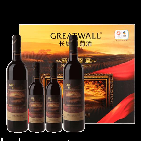 长城葡萄酒盛世臻藏375毫升价格