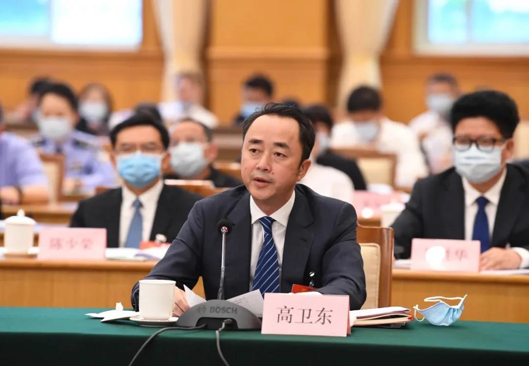 茅台集团董事长高卫东代表:履行国企担当 为世界贡献更多美好