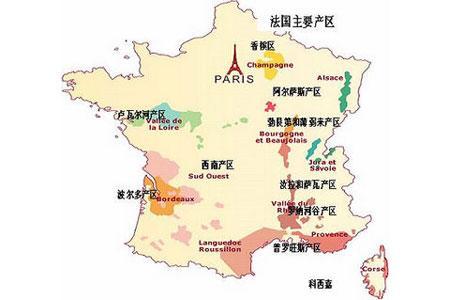 法国葡萄酒产区气候特点