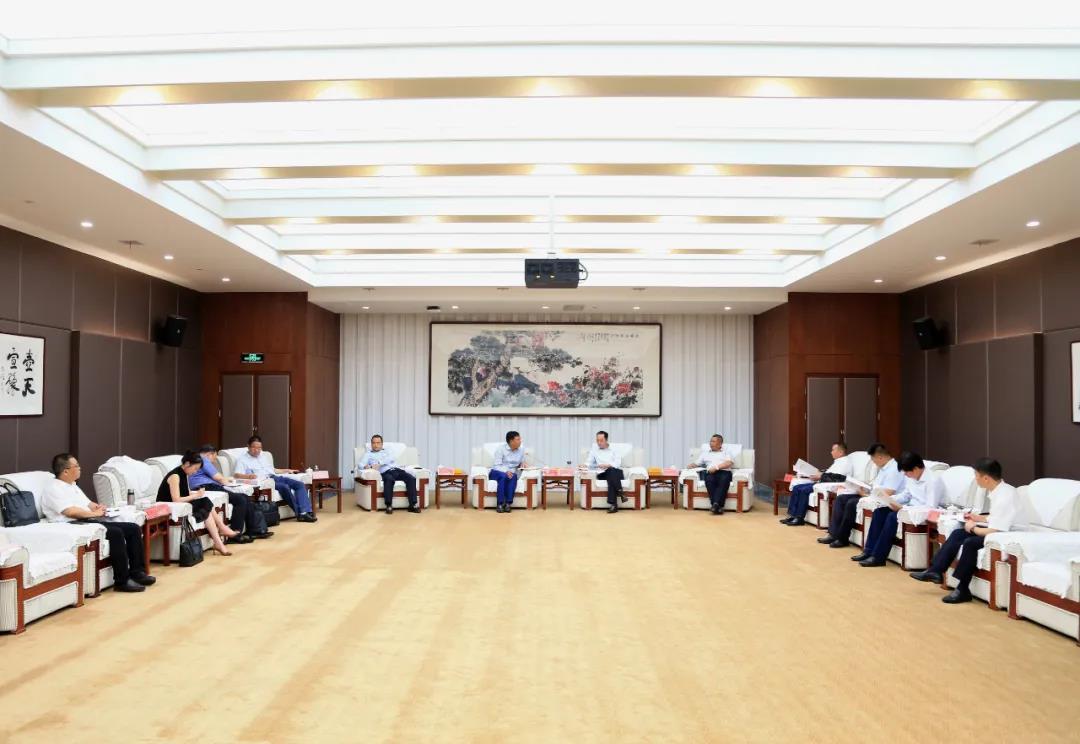 茅台集团与贵州建工集团座谈