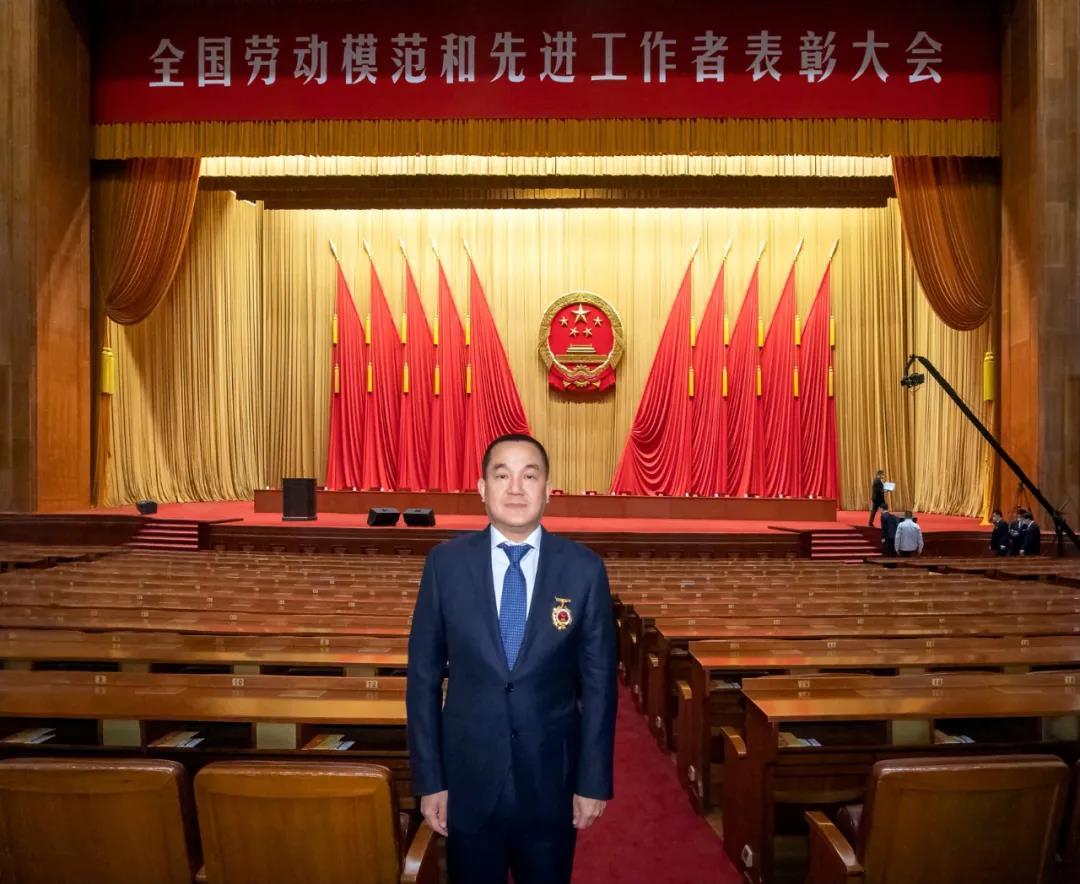 泸州老窖董事长刘淼荣获全国劳动模范荣誉称号