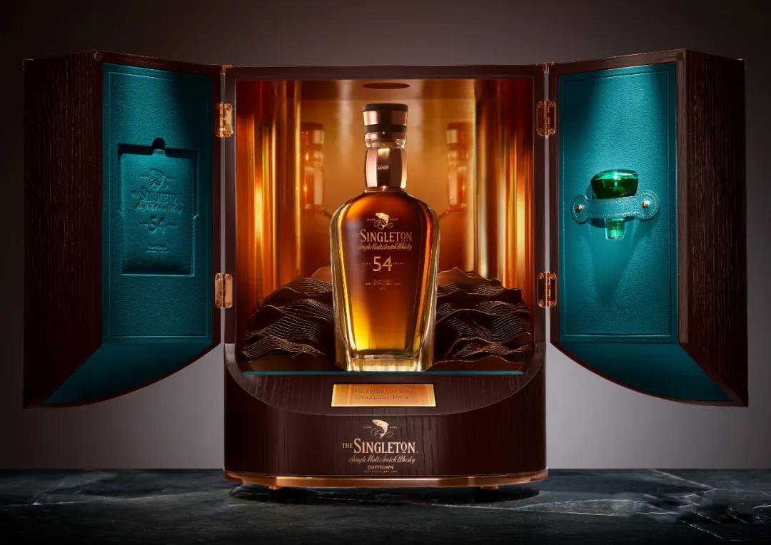 《时光巅峰系列》收官之作54年,一款收藏级威士忌的时间滋味