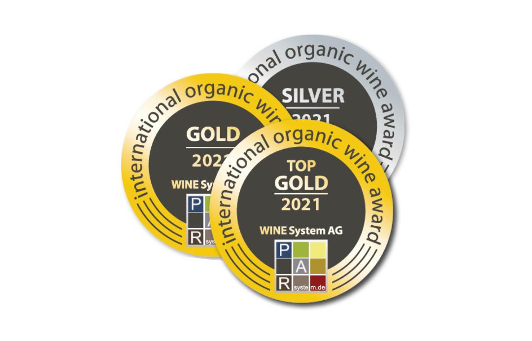 威龙在帕耳国际有机葡萄酒大赛上再夺一金三银