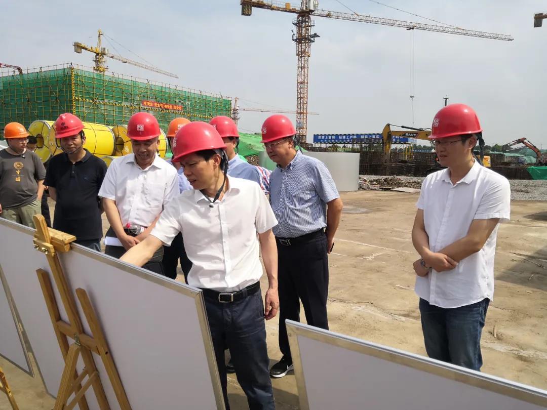 邵全卯副市长一行调研黄酒产业园建设项目