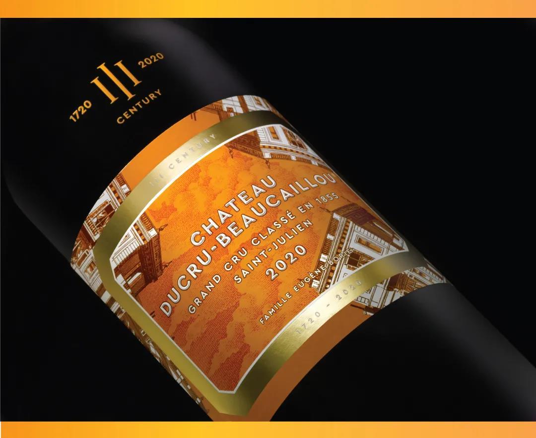 波尔多顶级酒庄宝嘉龙发布300周年诞辰纪念酒标
