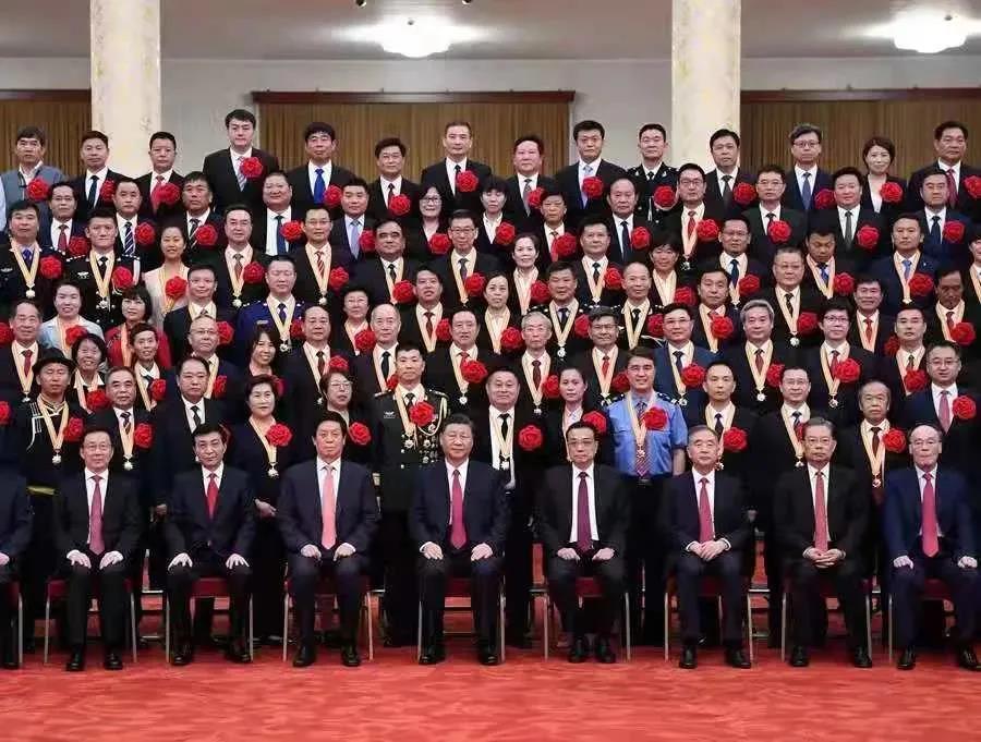 """吴少勋荣获""""全国优秀共产党员""""荣誉称号!"""